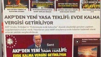 Photo of AKP Evde Kalma Vergisi Yasa Teklifi İddiası Ortalığı Karıştırdı