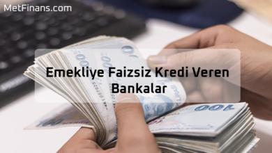 Photo of Emekliye Faizsiz Kredi Veren Bankalar 2020