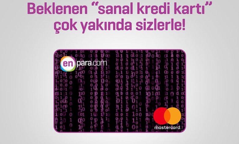 enpara sanal kart hizmeti