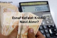 Photo of Esnaf Kefalet Kredisi Nasıl Alınır? Limiti Ne Kadar?