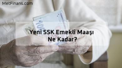 Photo of 2020 Güncel SSK Emekli Maaşı Ne Kadar?