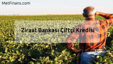 Photo of Ziraat Bankası Çiftçi Kredisi 2020