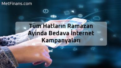 Photo of Tüm Hatların Ramazan Ayında Bedava İnternet Kampanyaları (Turkcell – Vodafone )