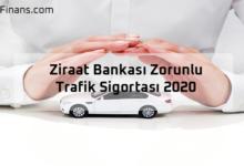 Photo of Ziraat Bankası Zorunlu Trafik Sigortası 2020