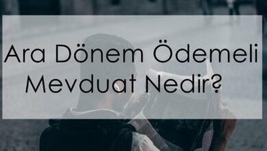 Photo of Ara Dönem Ödemeli Mevduat Nedir?