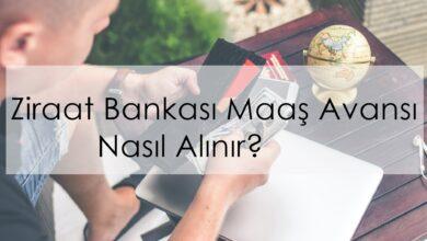 Photo of Ziraat Bankası Maaş Avansı Nasıl Alınır?