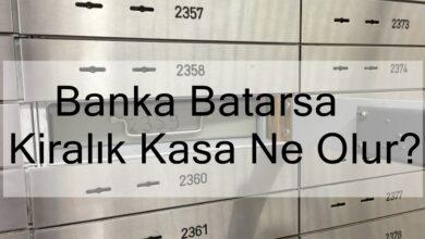 Photo of Banka Batarsa Kiralık Kasa Ne Olur?