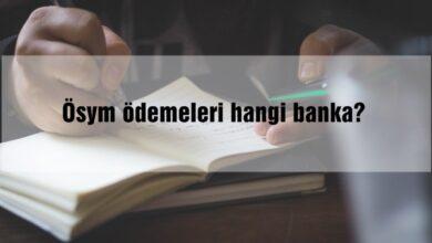 Ösym ödemeleri hangi banka?