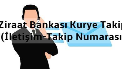 Ziraat Bankası Kurye Takip (İletişim-Takip Numarası)