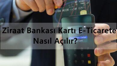 Ziraat Bankası Kartı E-Ticarete Nasıl Açılır?