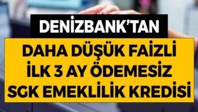 denizbank'tan sgk emeklilik kredisi