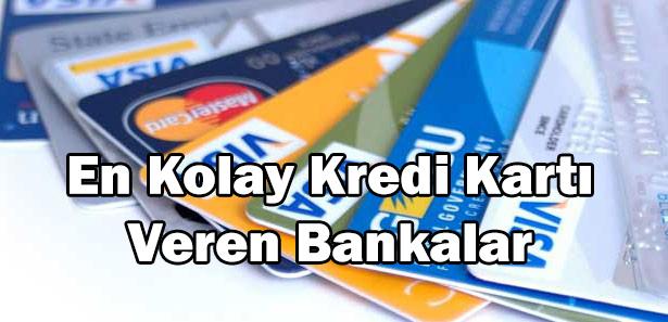 kredi kartı veren bankalar