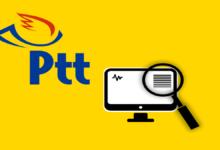 PTT Kargo İnternetten Takip Numarası Üzerinden Sorgulama